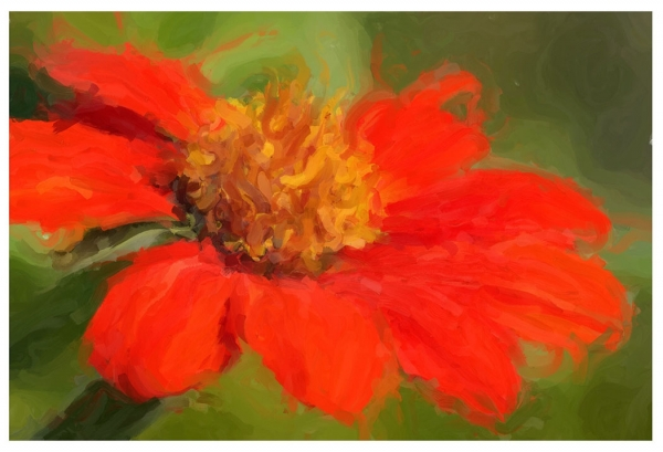 Color Beginner Open_Painted Flower_Tricia Lea Rhodes_20170525_Honorable Mention