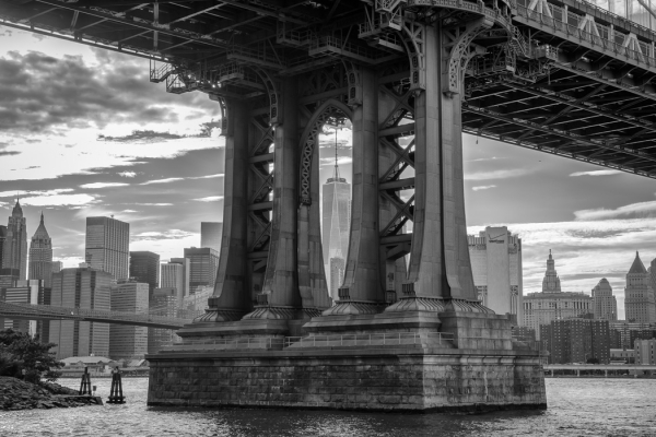 Monochrome Beginner Open_Manhattan Bridge_Nader Boctor_20170223_1st