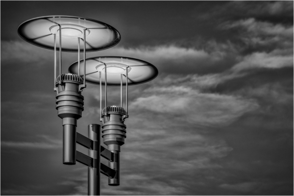 Special TopicCirclesMonochrome Beginner_Asbury Park Lights_Sharon Edwards_20171116_1st Place